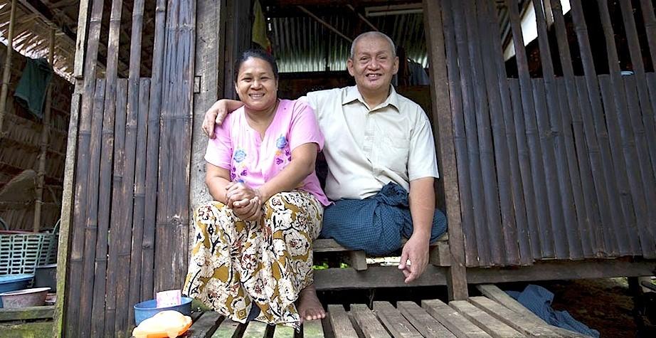 Khin Win Yee and Aye Thien