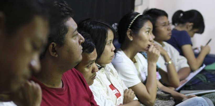 Global People Project Workshop - Yangon