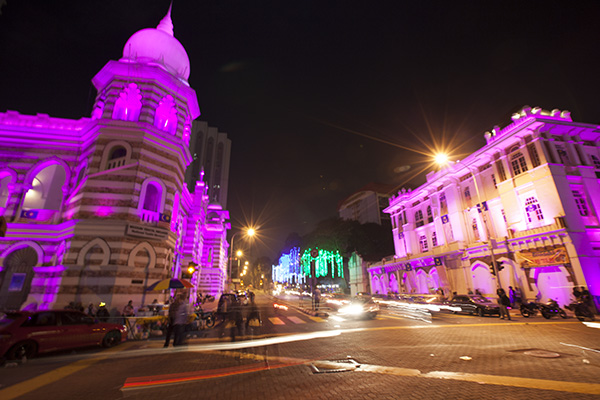 Merdeka Square, Independance night